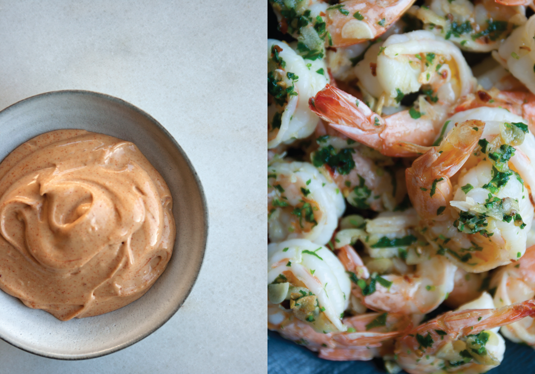 Pimentón Aioli | Garlic Shrimp
